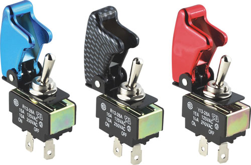 Pilot Safety Cover Toggle Switches