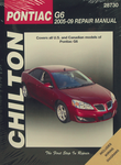 Pontiac G6 Chilton Repair Manual (2005-2009)