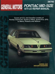 Pontiac Mid-Size Cars Chilton Repair Manual (1974-1983)