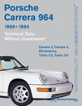 Porsche 911 Carrera (964) Technical Data Manual (1989-1994)