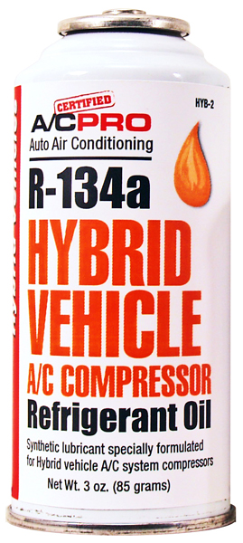 R-134a Hybrid Vehicle A/C Refrigerant Oil Charge 3 oz.