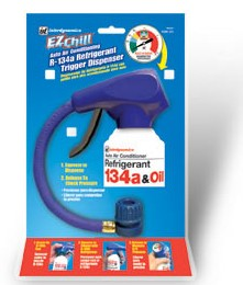 EZ Chill R-134a Trigger Charger Dispenser & Gauge
