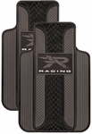 """R"" Racing Rubber Floor Mats (Pair)"