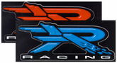 R Racing Window Decals