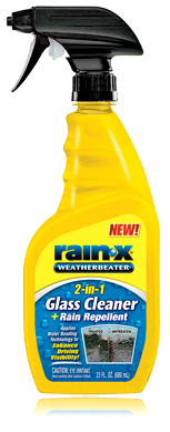 Rain-X 2-in-1 Glass Cleaner & Rain Repellent