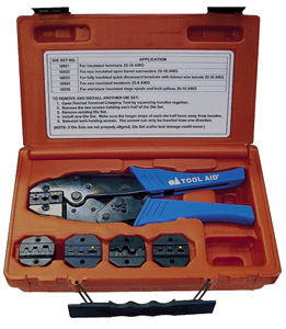 Ratcheting Terminal Crimper Kit