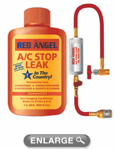 Red Angel A C Stop Leak Amp Injector Kit Blu49496 Kity