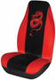 Red Embroidered Dragon Universal Bucket Seat Cover