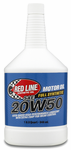 Red Line 20W50 Synthetic Motor Oil (1 Qt.)