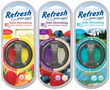 Refresh Odor Eliminating Dual Scented Oil Diffuser Air Fresheners
