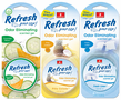 Refresh Odor Eliminating Gel Air Fresheners (1 oz)