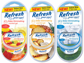 Refresh Odor Eliminating Gel Air Fresheners (2� oz)