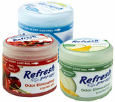 Refresh Odor Eliminating Gel Air Fresheners (4� oz)