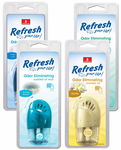 Refresh Odor Eliminating Oil Scented Oil Wick Air Fresheners