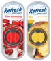 Refresh Odor Eliminating Scented Oil Diffuser Air Fresheners