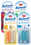 Refresh Vent Stick Car Air Fresheners (4 pack)