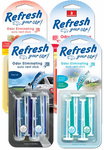Refresh Vent Stick Dual Scented Air Fresheners (4 pack)