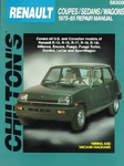 Renault Coupes/Sedans/Wagons (1975-85) Chilton Manual