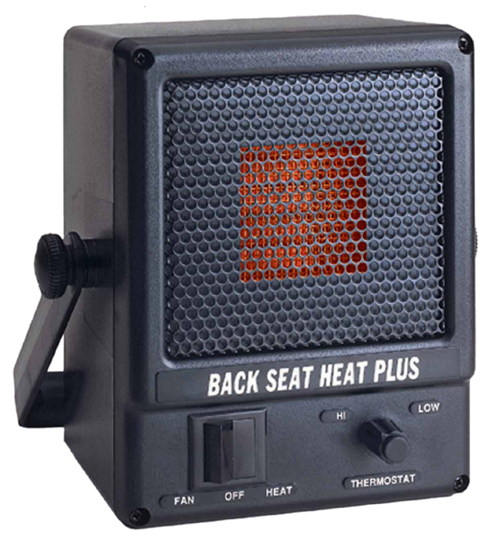 Road Worthy 12v Portable Back Seat Heater The3000c