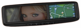 Roadtrip GPS Navigation & Bluetooth Rearview Mirror