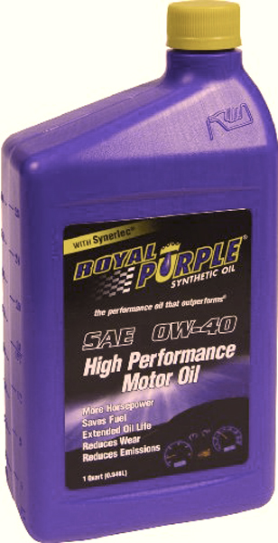 Royal Purple 0W40 Motor Oil 1 Qt.