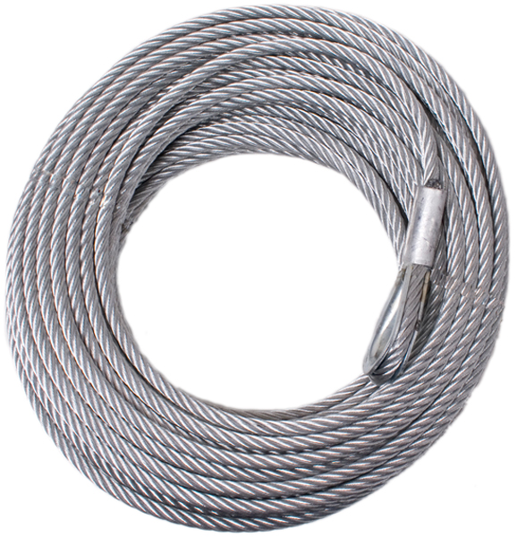 Rugged Ridge 94 Ft. Winch Cable