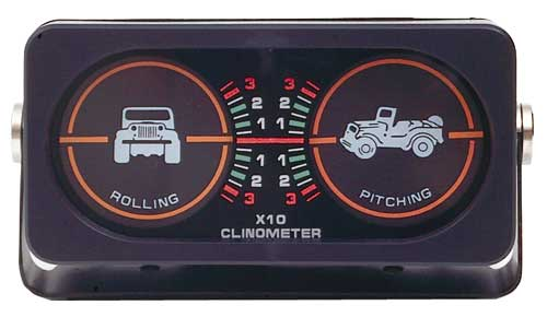 Rugged Ridge Clinometer With Light