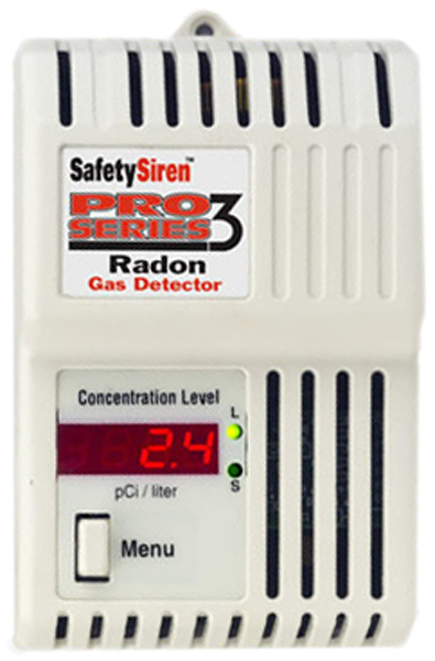 Safety Series Radon Gas Detector