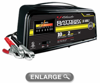 Schumacher 12V Manual Battery Charger (10/2 AMP Dual Rate)