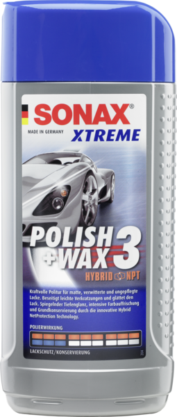 Sonax Xtreme Hybrid NanoTechnology Liquid Wax 500 ml