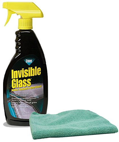 Stoner Invisible Glass Cleaner Spray 22 oz. & Microfiber Cloth Kit