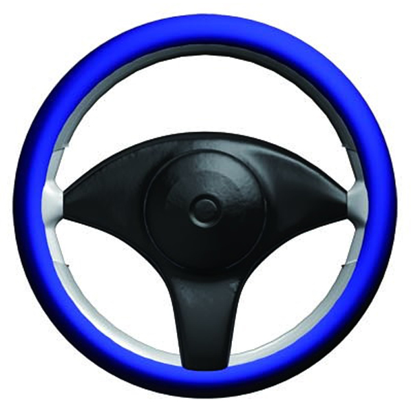 Stretchy Grip Blue Steering Wheel Cover