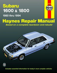 Subaru 1600 & 1800 Haynes Repair Manual (1980-1994)