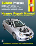 Subaru Impreza Haynes Repair Manual (2002-2014)