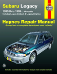 Subaru Legacy Haynes Repair Manual (1990-1999)