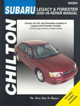 Subaru Legacy, Outback, Baja & Forester Chilton Manual (2000-2009)