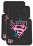 Supergirl & Butterflies Rubber Floor Mats (Pair)