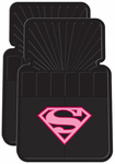 Supergirl Rubber Floor Mats (Pair)