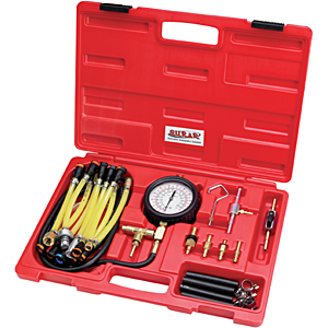 SUR&R Deluxe 30 Pc. Fuel Injection Pressure Tester Kit