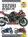 Suzuki GSX-R600 & 750 Haynes Repair Manual (2006-2009)