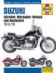 Suzuki Intruder, Marauder, Volusia and Boulevard Haynes Repair Manual (1985-2009)