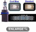 Sylvania Cool Blue Halogen Headlight Bulbs