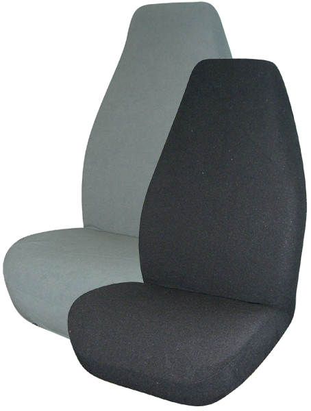 Terry Velour Universal Bucket Seat Covers Pair