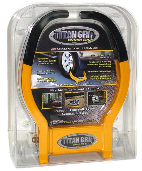 Titan Grip Wheel Lock