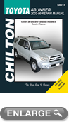 Toyota 4Runner Chilton Repair Manual (2003 - 2009)