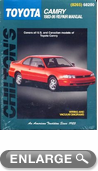 Toyota Camry (1983-96) Chilton Manual