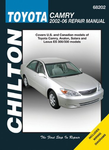 Toyota Camry Chilton Repair Manual (2002-2006)