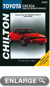 Toyota Celica (1986-93) Chilton Manual