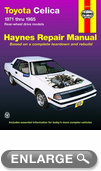 Toyota Celica Haynes Repair Manual (1971 - 1985)