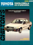 Toyota Corolla (1970-87) Chilton Manual